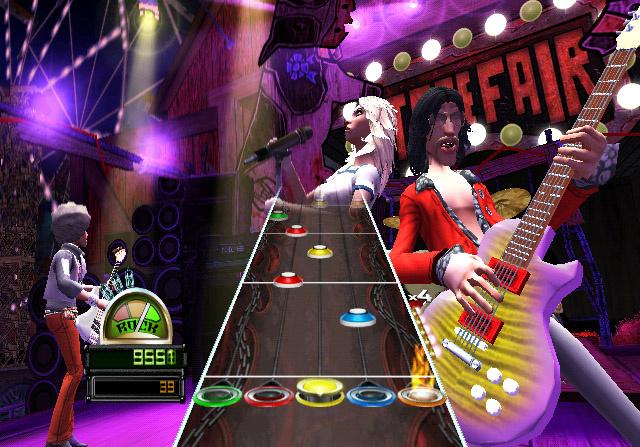Guitar Hero: World Tour Screenshot