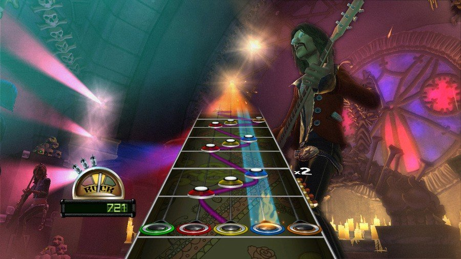 Guitar Hero: World Tour Screenshot
