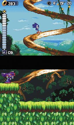 Sonic Rush Screenshot