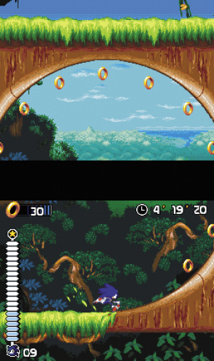 Sonic Rush Review - Screenshot 2 of 3
