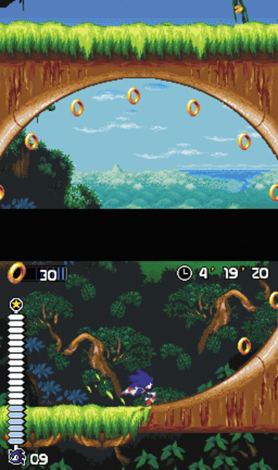 Sonic Rush Screenshot