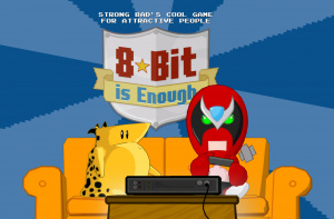 Strong Bad Episode 5 - 8-Bit is Enough Review - Screenshot 1 of 3