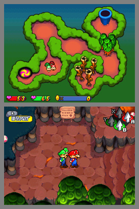 Mario & Luigi: Partners In Time Screenshot