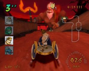 Heracles: Chariot Racing Review - Screenshot 1 of 6