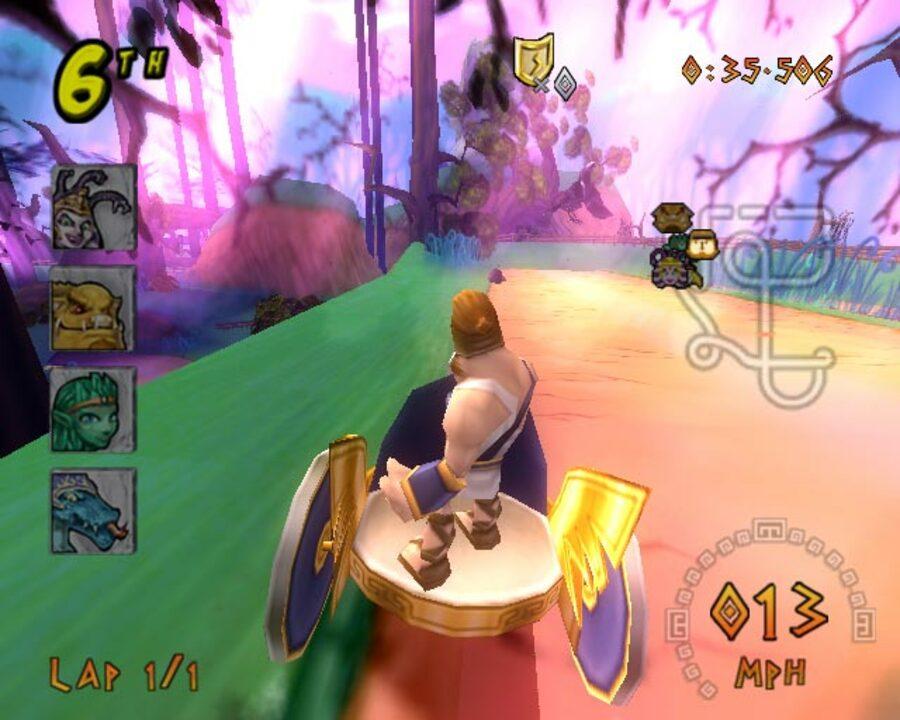 Heracles: Chariot Racing Screenshot