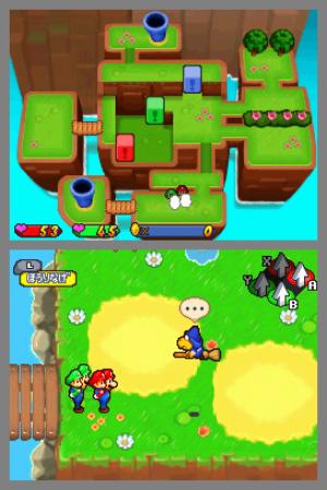 Mario & Luigi: Partners In Time Review - Screenshot 1 of 3