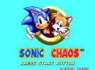 Sonic Chaos Screenshot
