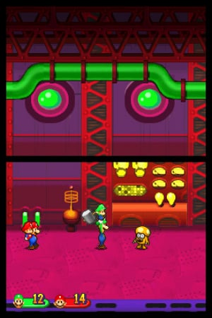 Mario & Luigi: Partners In Time Review - Screenshot 1 of 3