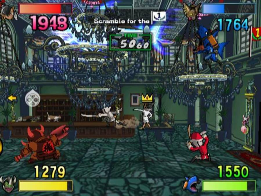 Viewtiful Joe: Red Hot Rumble Screenshot