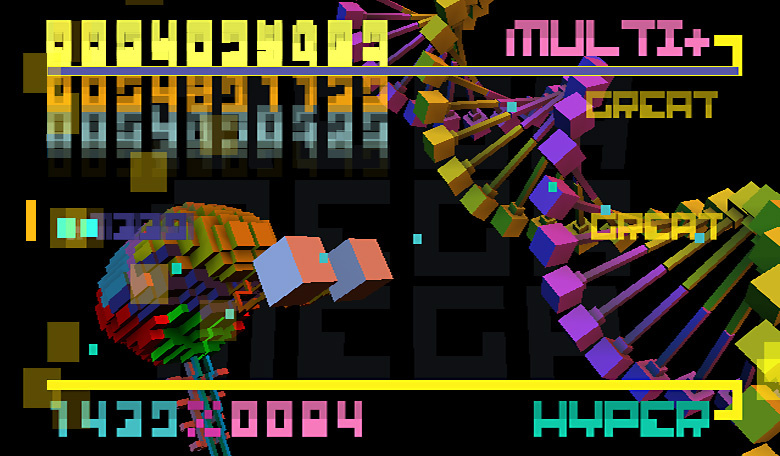 BIT.TRIP BEAT Screenshot
