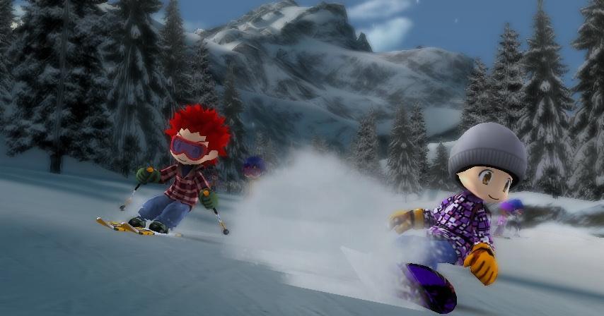 We Ski & Snowboard Screenshot