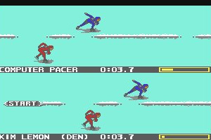Winter Games Screenshot