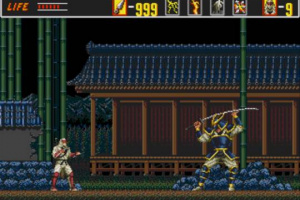 The Revenge of Shinobi Screenshot