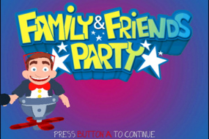 Family & Friends Party Screenshot