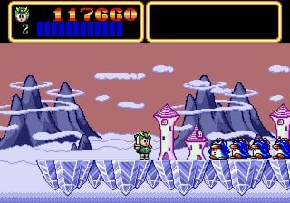 Wonder Boy III: Monster Lair Screenshot