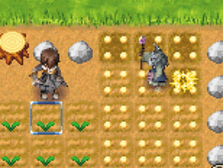 Rune Factory: A Fantasy Harvest Moon Screenshot