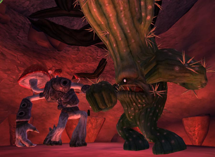 Mushroom Men: The Spore Wars Review - Screenshot 1 of 4