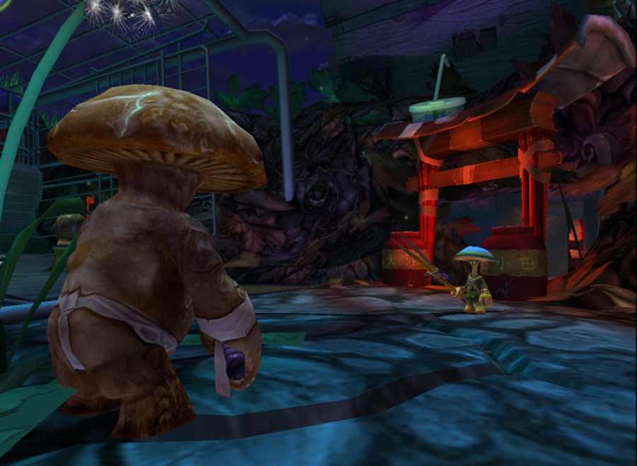 Mushroom Men: The Spore Wars Review - Screenshot 2 of 4