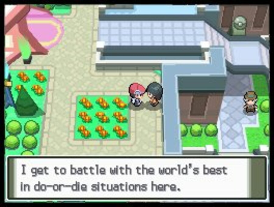 Pokémon Platinum Screenshot