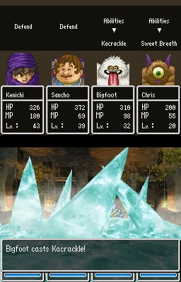 dc28fabfbf7 Dragon Quest V  Hand of the Heavenly Bride (DS) Screenshots