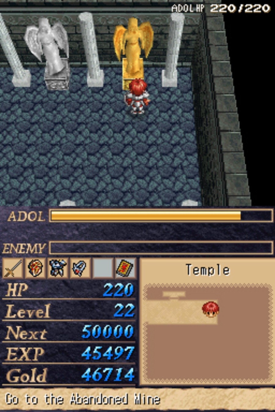Legacy of Ys: Books I & II Screenshot
