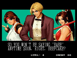 King of Fighters Collection: The Orochi Saga Screenshot