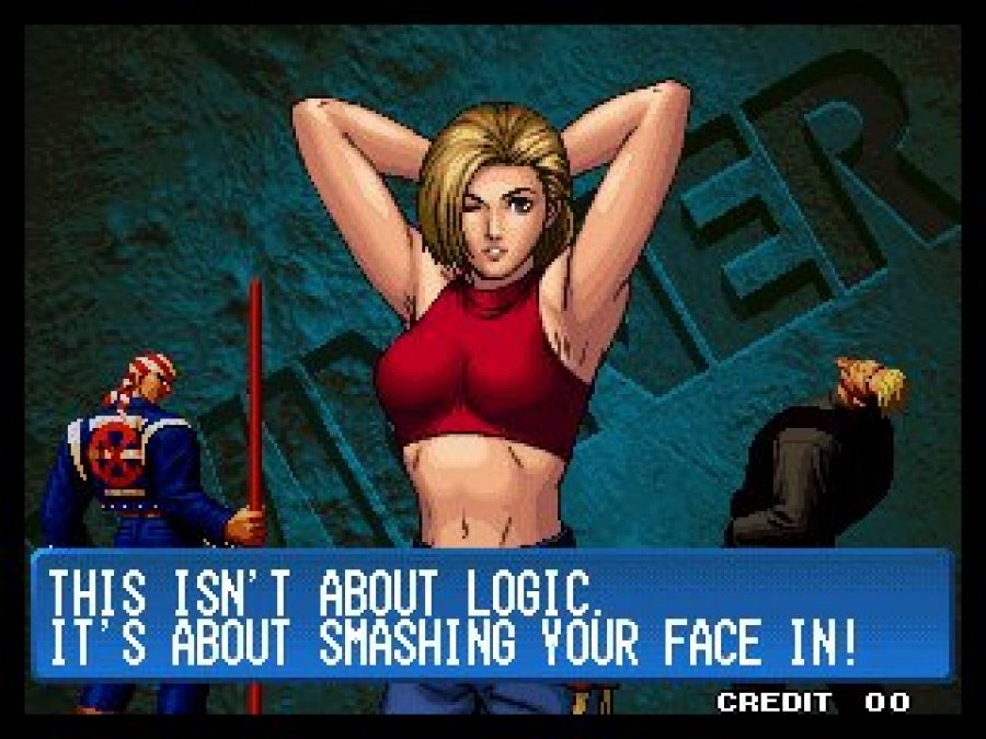 King of Fighters Collection: The Orochi Saga Review - Screenshot 1 of 4