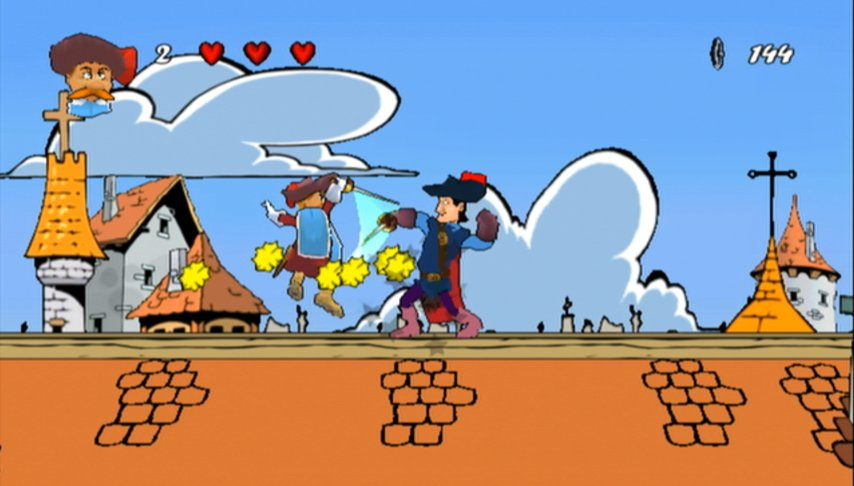 three musketeers game free