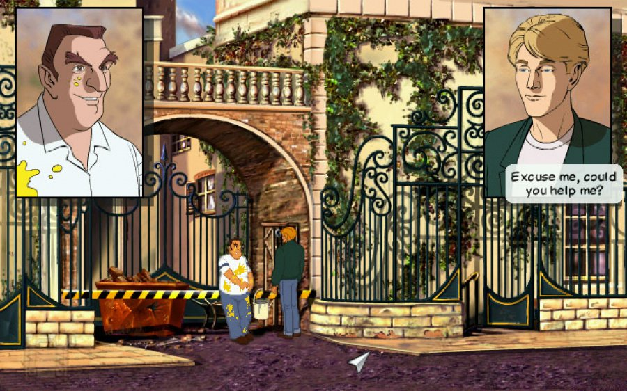 Broken Sword: Shadow of the Templars - The Director's Cut Review - Screenshot 1 of 4
