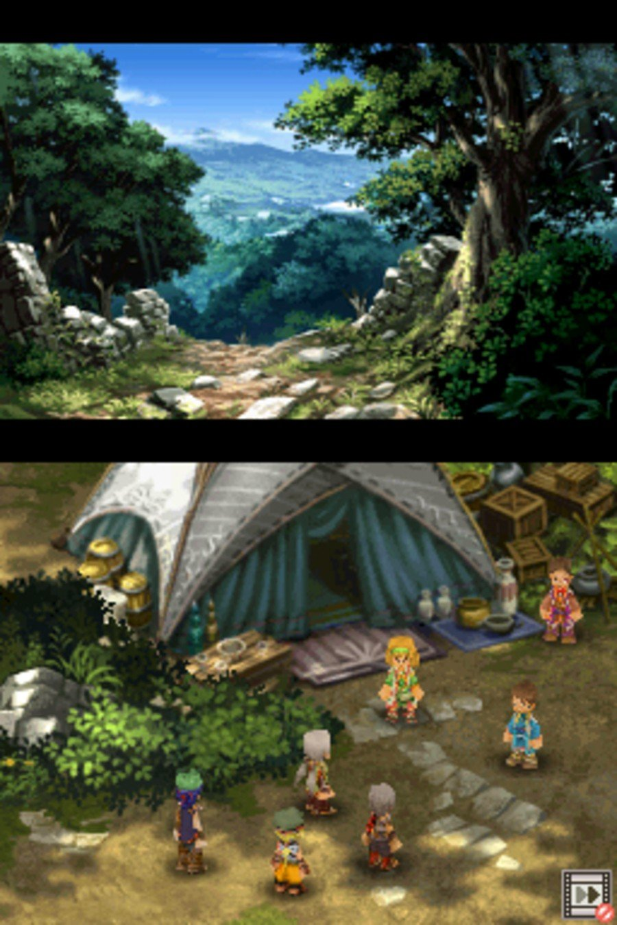 Suikoden: Tierkreis Screenshot