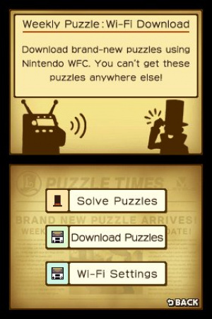 Professor Layton and the Curious Village Review - Screenshot 2 of 4