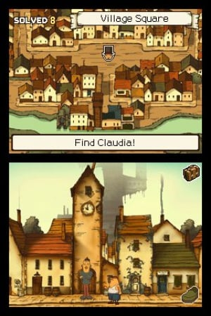 Professor Layton and the Curious Village Review - Screenshot 4 of 4