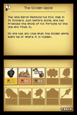 Professor Layton and the Curious Village Review - Screenshot 3 of 4