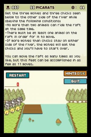 Professor Layton and the Curious Village Review - Screenshot 1 of 4