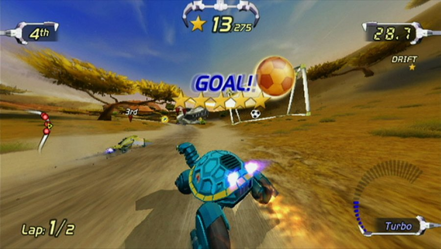 Excitebots: Trick Racing Review - Screenshot 4 of 5