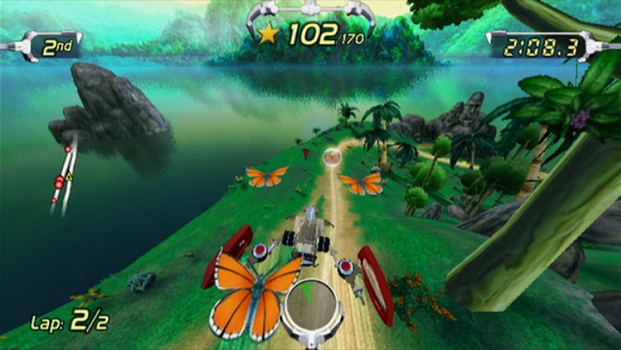 Excitebots: Trick Racing Review - Screenshot 2 of 5