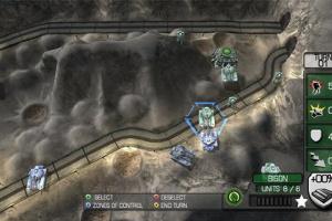 Military Madness: Nectaris Screenshot