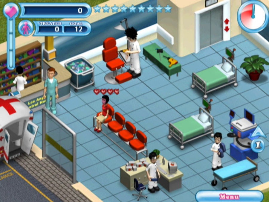 Hysteria Hospital: Emergency Ward Review - Screenshot 2 of 3