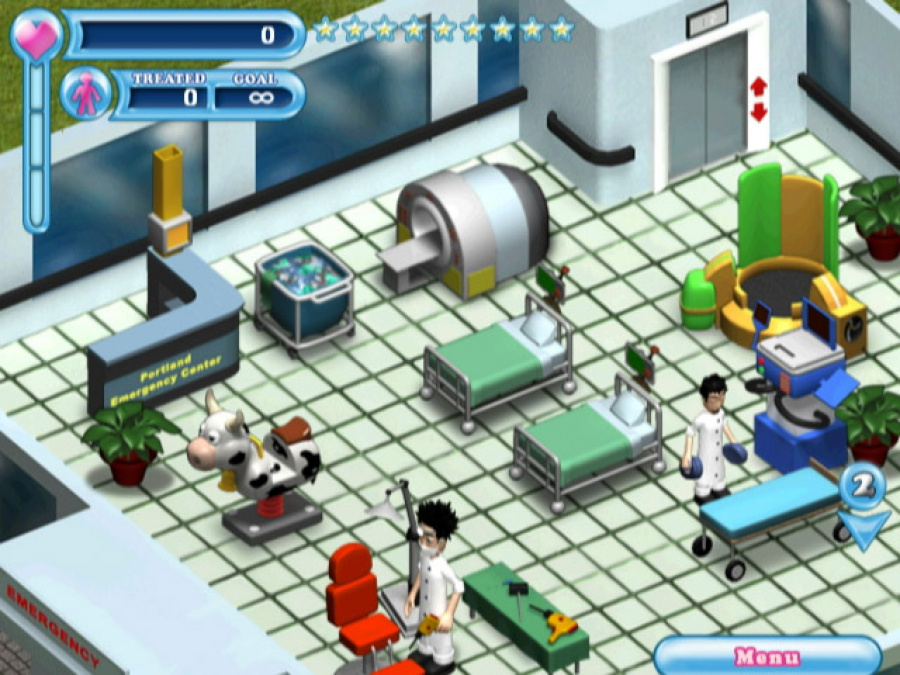Hysteria Hospital: Emergency Ward Review - Screenshot 1 of 3