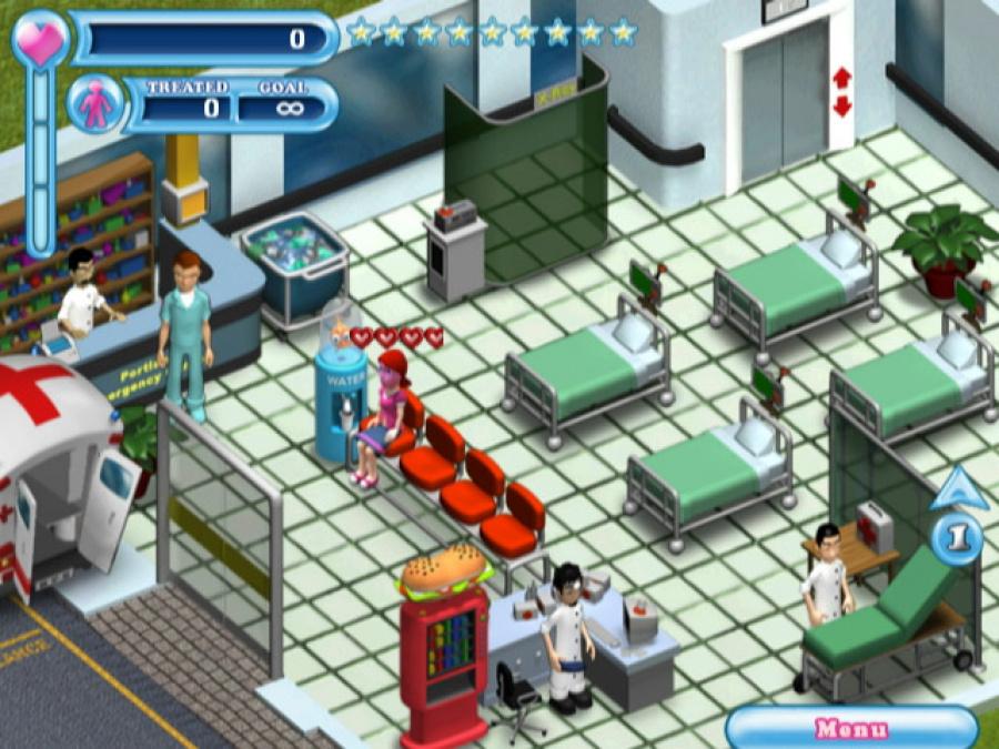 Hysteria Hospital: Emergency Ward Review - Screenshot 1 of 3