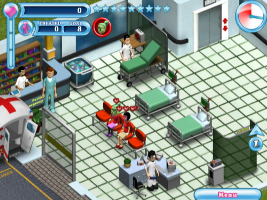 Hysteria Hospital: Emergency Ward Review - Screenshot 3 of 3