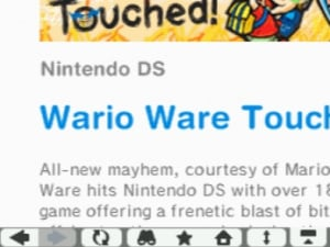 Nintendo DSi Browser Review - Screenshot 2 of 3