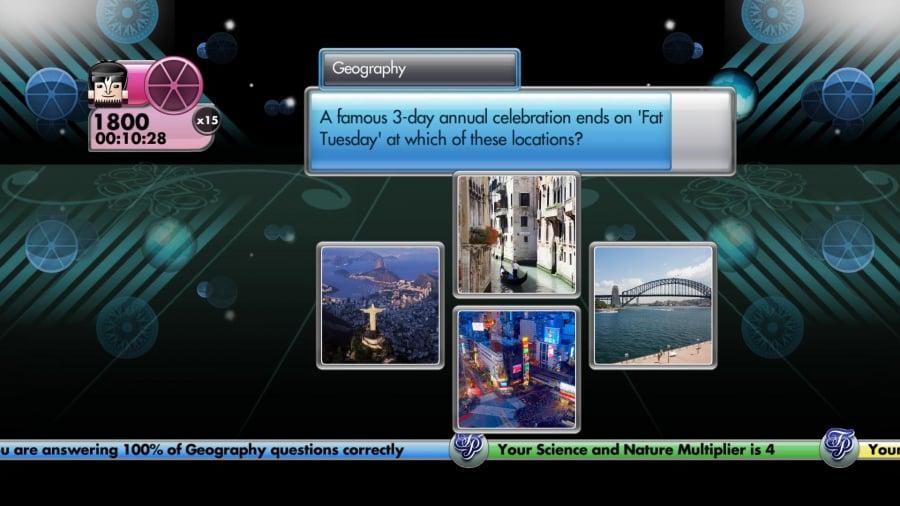 Trivial Pursuit Review - Screenshot 1 of 3