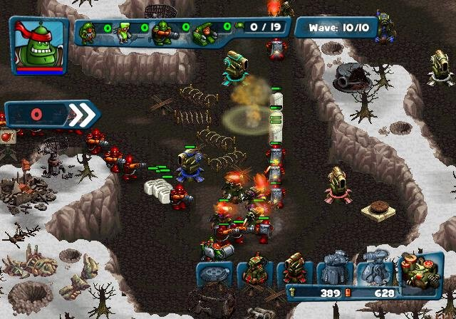 Robocalypse: Beaver Defense Screenshot