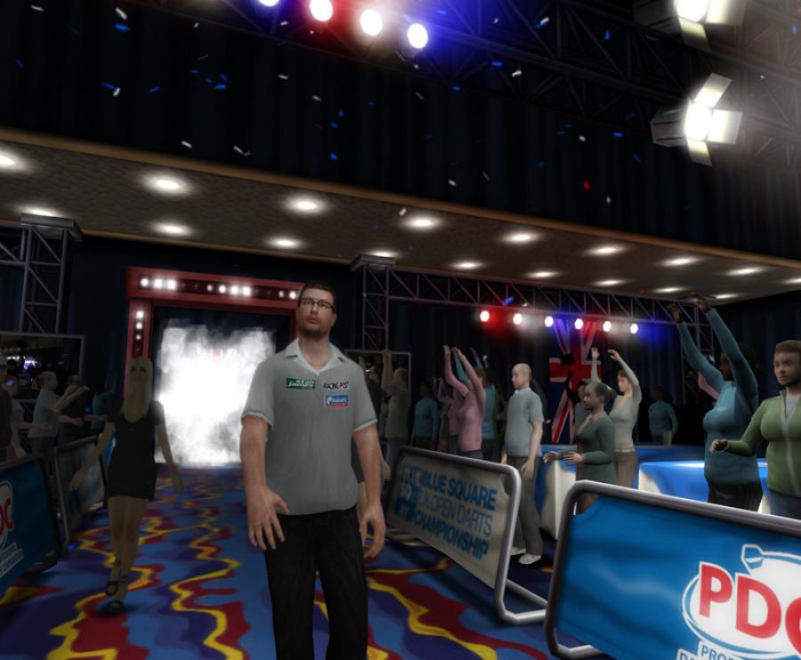 PDC World Championship Darts 2009 Review - Screenshot 4 of 4