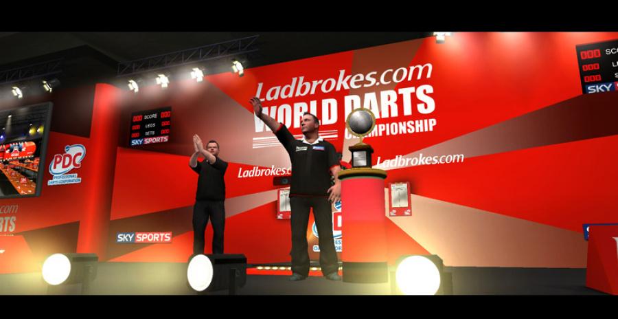 PDC World Championship Darts 2009 Review - Screenshot 1 of 4