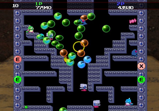 Bubble Bobble Plus! Screenshot