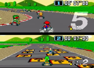Super Mario Kart Review - Screenshot 1 of 7