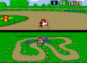 Super Mario Kart Review - Screenshot 2 of 7