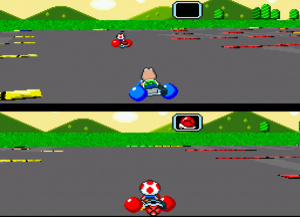 Super Mario Kart Review - Screenshot 3 of 7
